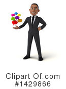 Black Businessman Clipart #1429866 by Julos