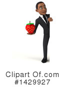 Black Businessman Clipart #1429927 by Julos