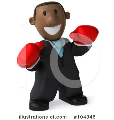 Black Businessman Clipart #104346 by Julos