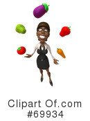 Black Businesswoman Character Clipart #69934 by Julos