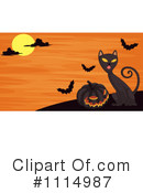Black Cat Clipart #1114987 by Graphics RF