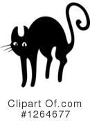 Black Cat Clipart #1264677 by Vector Tradition SM