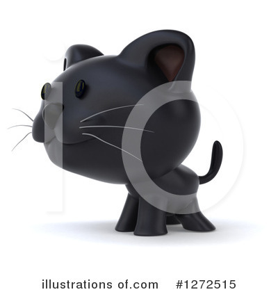 Black Cat Clipart #1272515 by Julos