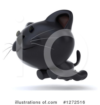 Black Cat Clipart #1272516 by Julos