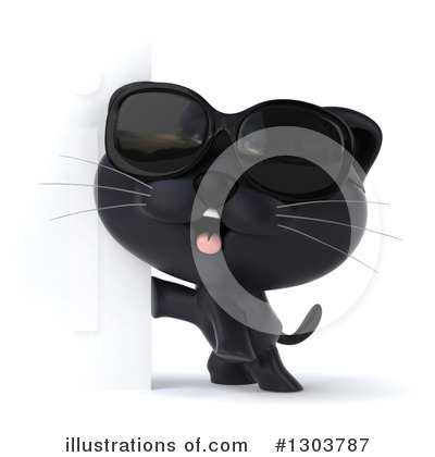 Black Cat Clipart #1303787 by Julos