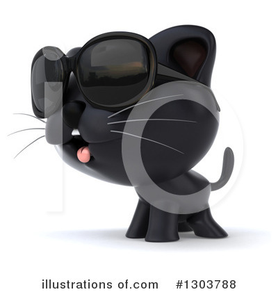 Black Cat Clipart #1303788 by Julos