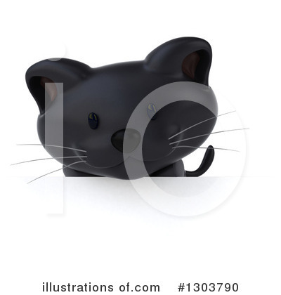 Black Cat Clipart #1303790 by Julos