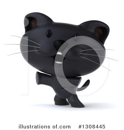 Black Cat Clipart #1308445 by Julos