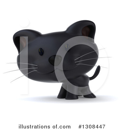 Black Cat Clipart #1308447 by Julos