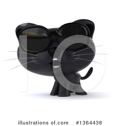 Black Cat Clipart #1364438 by Julos