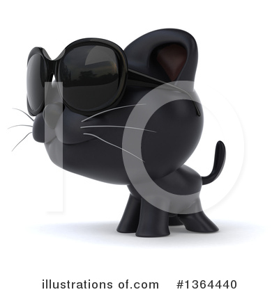 Black Cat Clipart #1364440 by Julos