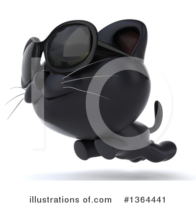 Black Cat Clipart #1364441 by Julos