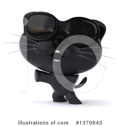 Black Cat Clipart #1370643 by Julos