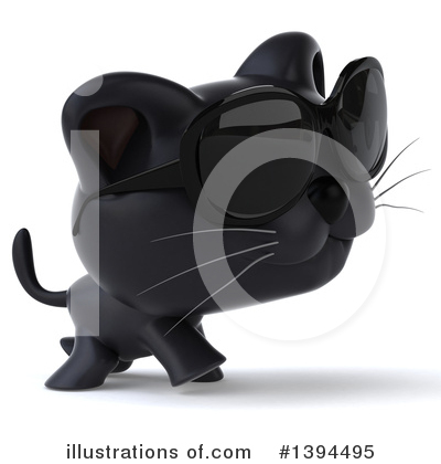 Black Cat Clipart #1394495 by Julos
