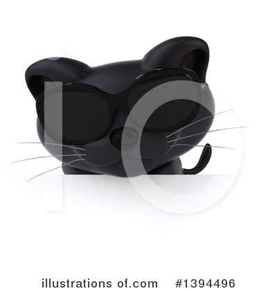 Black Cat Clipart #1394496 by Julos