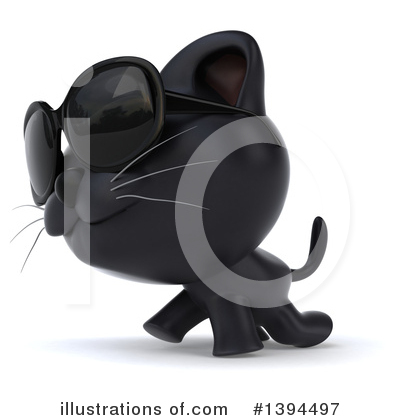 Black Cat Clipart #1394497 by Julos