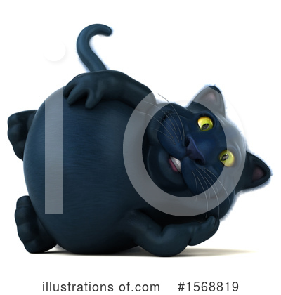 Black Cat Clipart #1568819 by Julos
