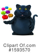 Black Cat Clipart #1593570 by Julos