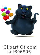 Black Cat Clipart #1606806 by Julos