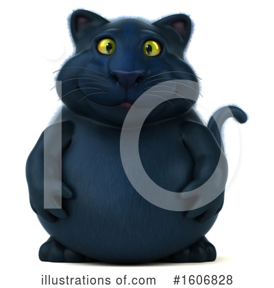 Black Cat Clipart #1606828 by Julos