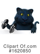 Black Cat Clipart #1620850 by Julos