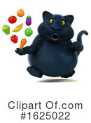 Black Cat Clipart #1625022 by Julos