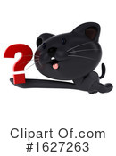 Black Cat Clipart #1627263 by Julos