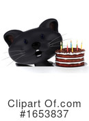 Black Cat Clipart #1653837 by Julos