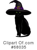Black Cat Clipart #68035 by Pams Clipart