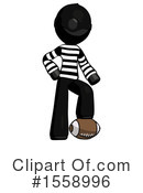 Black Design Mascot Clipart #1558996 by Leo Blanchette