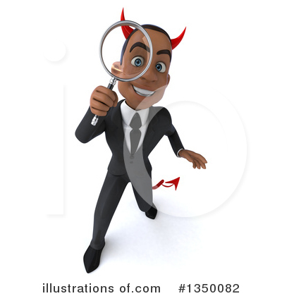 Black Businessman Clipart #1350082 by Julos
