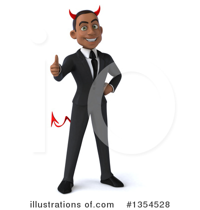 Black Businessman Clipart #1354528 by Julos