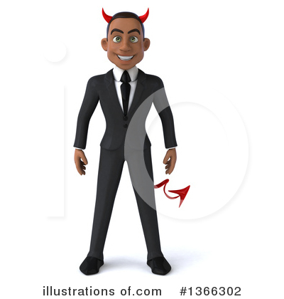 Black Businessman Clipart #1366302 by Julos
