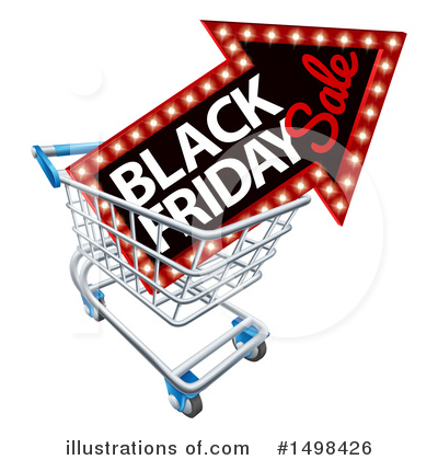 Black Friday Clipart #1498426 by AtStockIllustration