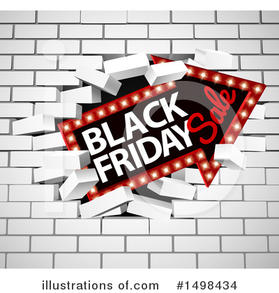 Black Friday Clipart #1498434 by AtStockIllustration