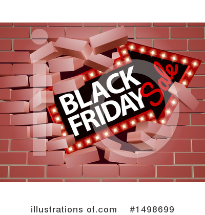 Black Friday Clipart #1498699 by AtStockIllustration