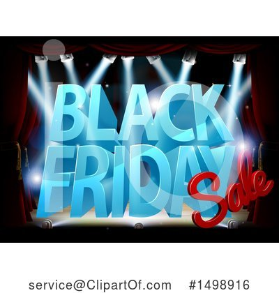 Black Friday Clipart #1498916 by AtStockIllustration