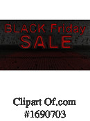 Black Friday Clipart #1690703 by KJ Pargeter