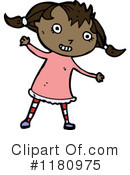Black Girl Clipart #1180975 by lineartestpilot