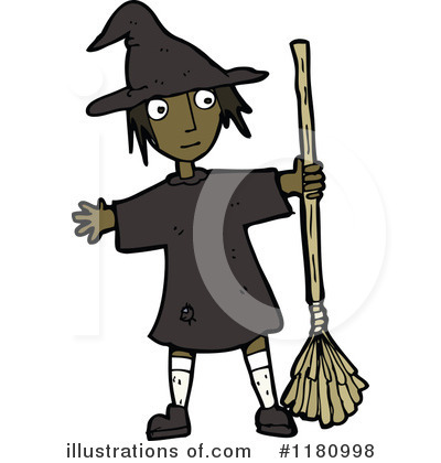 Witch Clipart #1180998 by lineartestpilot