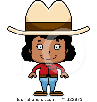 Cowgirl Clipart #1322973 by Cory Thoman
