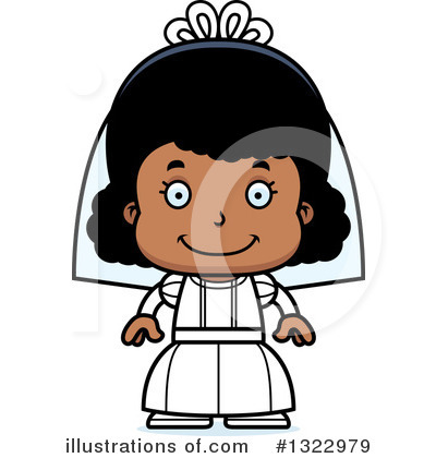Royalty-Free (RF) Black Girl Clipart Illustration by Cory Thoman - Stock Sample #1322979