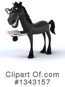 Black Horse Clipart #1343157 by Julos