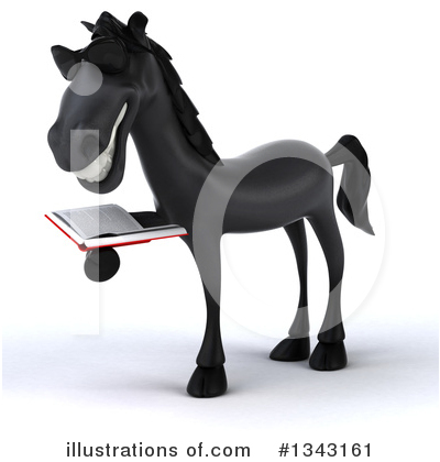 Black Horse Clipart #1343161 by Julos