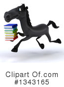 Black Horse Clipart #1343165 by Julos