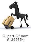 Black Horse Clipart #1399354 by Julos