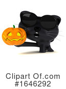 Black Kitten Clipart #1646292 by Julos