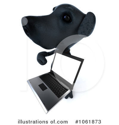 Black Lab Clipart #1061873 by Julos
