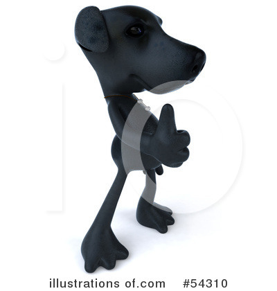 Black Lab Clipart #54310 by Julos