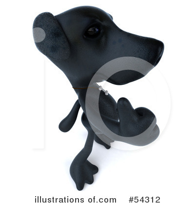 Black Lab Clipart #54312 by Julos